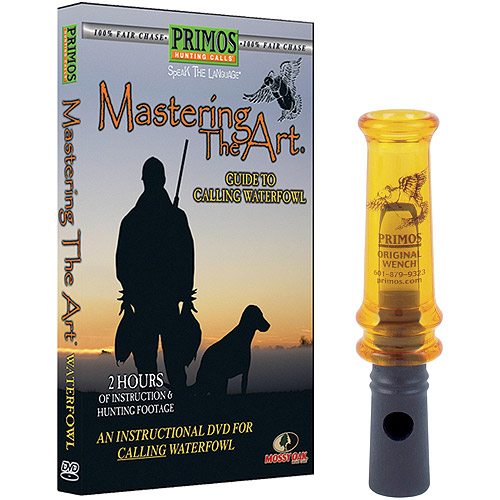 Primos Mastering the Art Duck Pak Original Wench Call and Instructional DVD