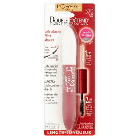 Lor Al Paris Double Extend Beauty Tubes 570 Black Lash Extension Effect Mascara