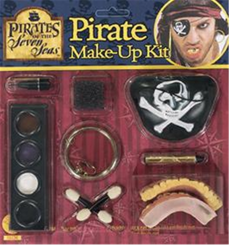 Rubies Pirate Teeth and Earring Make-up Kit