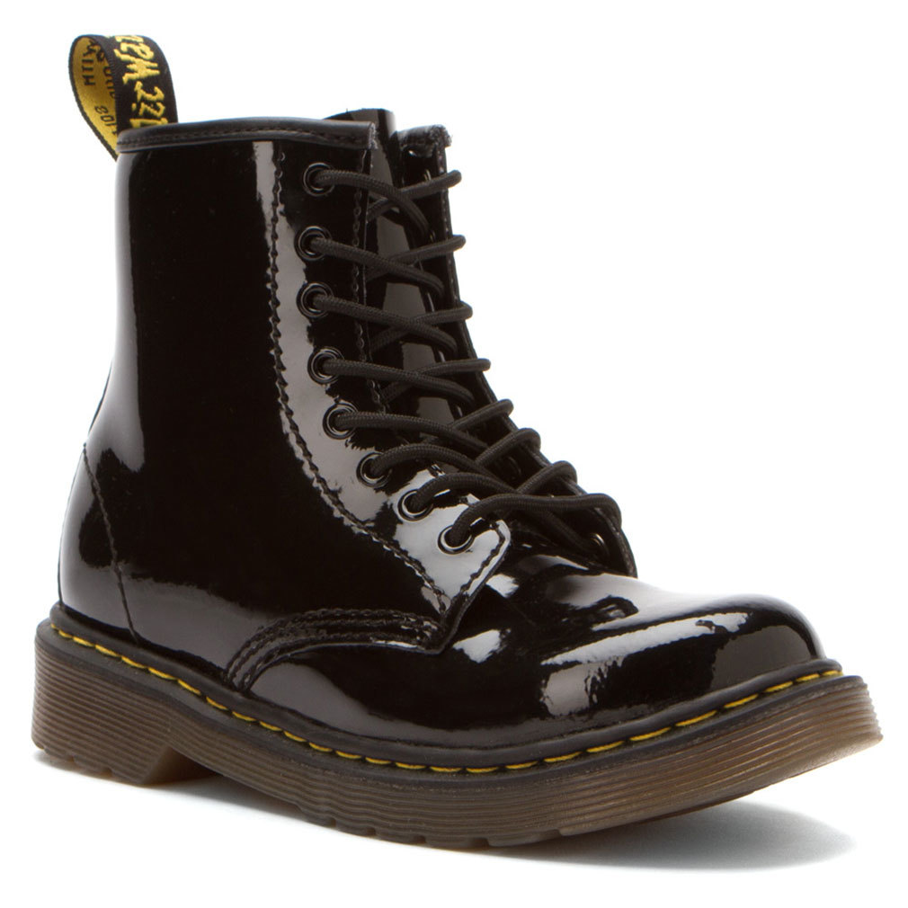 Dr. Martens Girl's DELANY Black Boots 10 M UK 11 M by Perry Ellis