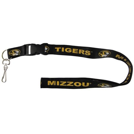 Missouri Tigers NCAA Breakaway Lanyard w/Key Ring Pro Specialties Group 276121