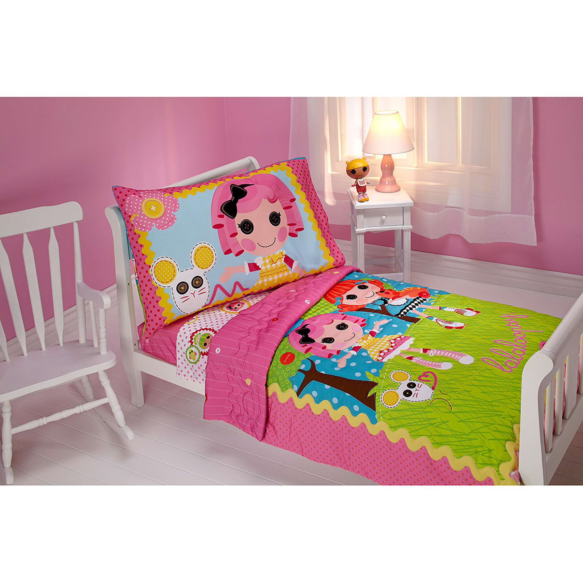 Lalaloopsy Sew Cute 4 Piece Toddler Bed Set