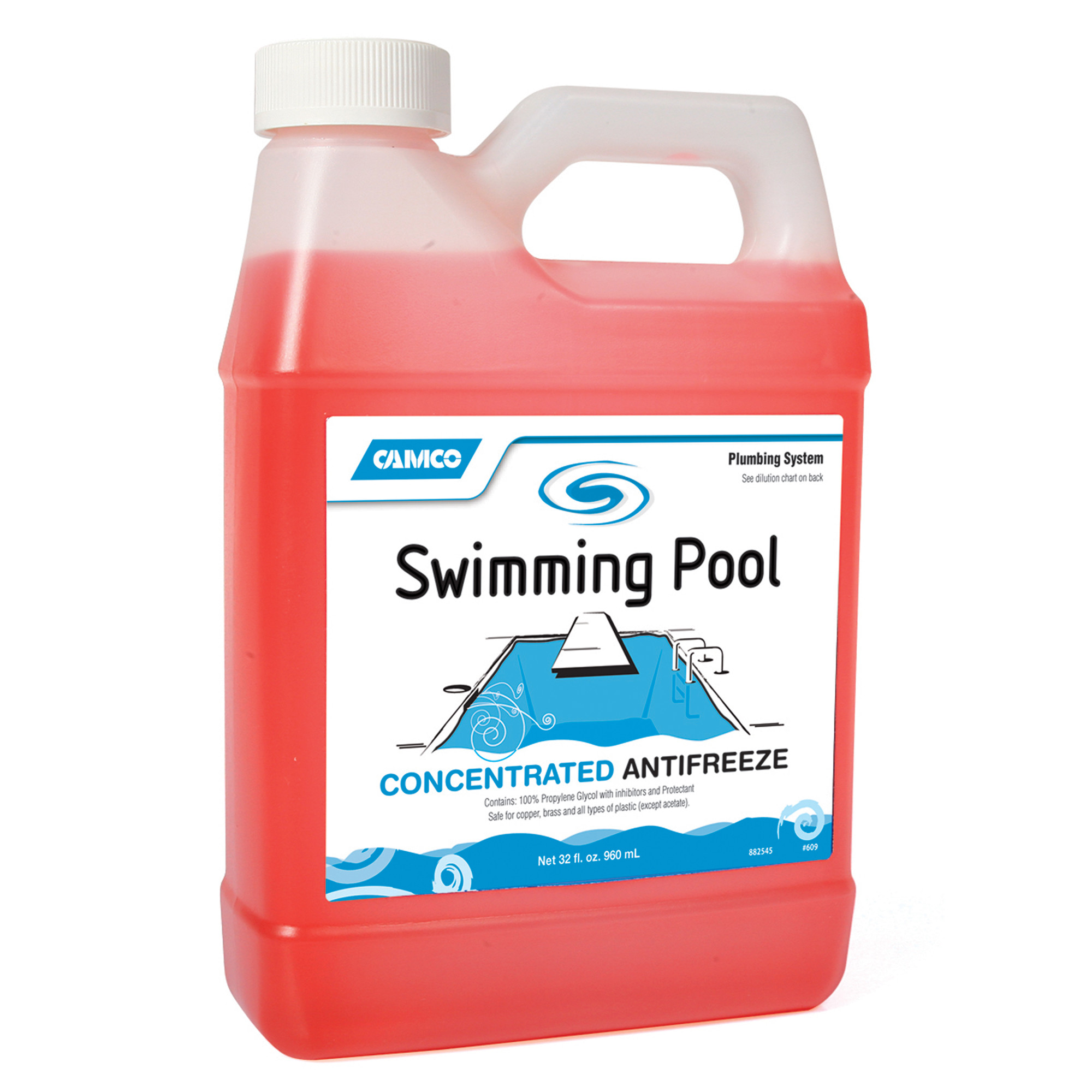 Blue Wave Swimming Pool Anti-Freeze Concentrate - 1 qt