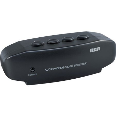 Audiovox RCA VH911 System Selector for TV, DVD Player, Game Console