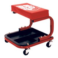 Torin TR6300 Big Red Rolling Creeper Seat with Tool Tray