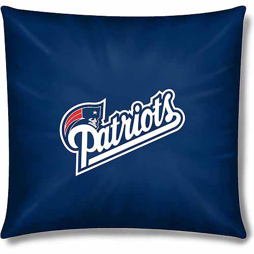 "NFL Patriots Official 15"" Toss Pillow"