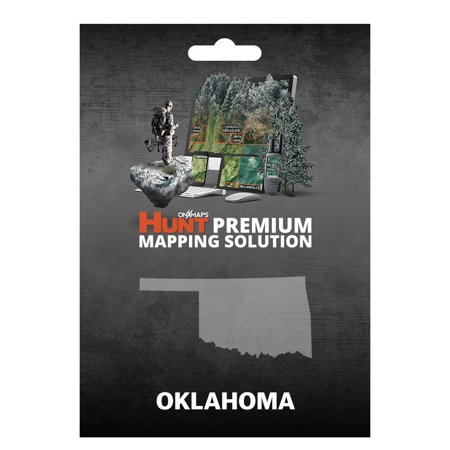 Onxmaps Hunt Oklahoma   Gps Map With Hunting Land Owner Data For Garmin  Microsd Sd Card   Smartphone    Computer
