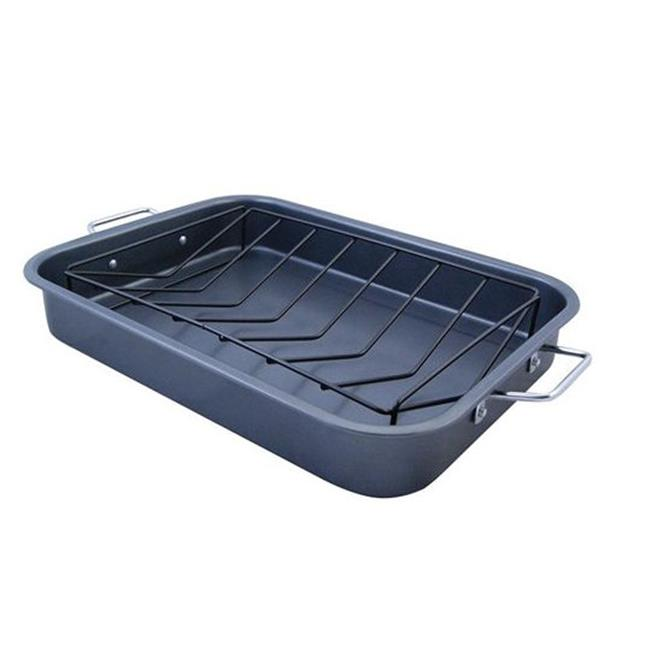 150-TRP KitchenWorthy Roasting Pan with V-Rack Case of 4 by PC