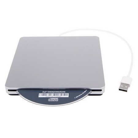 Apple Macbook Pro Superdrive (USB External Slot in DVD CD Drive Burner Superdrive for Apple for MacBook Air Pro Convenience for Playing Music)