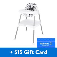 [$15 Savings] Evenflo 4-in-1 Eat & Grow Convertible High Chair, Free $15 Gift Card
