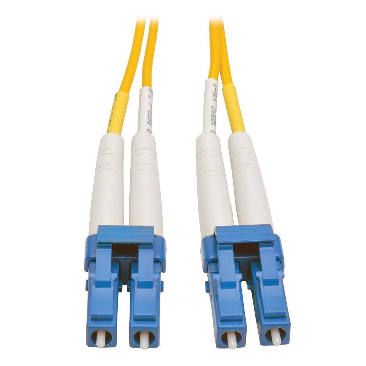 Tripp Lite 15M Duplex Singlemode 8.3/125 Fiber Patch Cable (LC/LC)