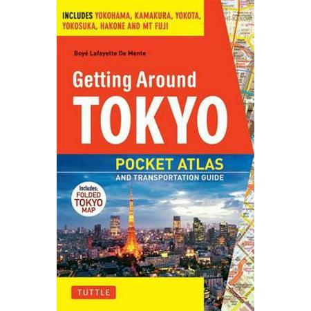Around Pocket - Getting Around Tokyo Pocket Atlas and Transportation Guide - eBook
