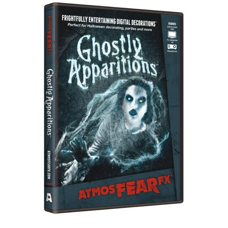 AtmosFearFX Ghostly Apparitions Digital Decoration Halloween DVD](Halloween Club Store Hours)