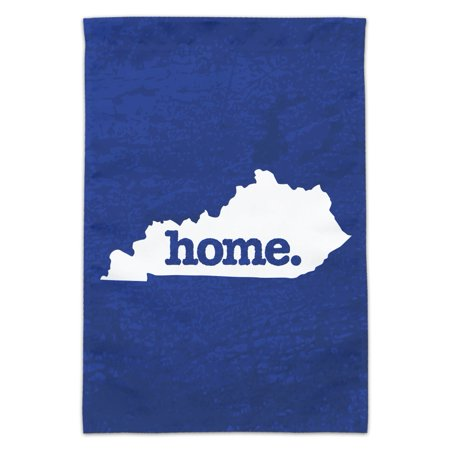 Kentucky Yard - Kentucky KY Home State Textured Navy Blue Officially Licensed Garden Yard Flag (Pole Not Included)