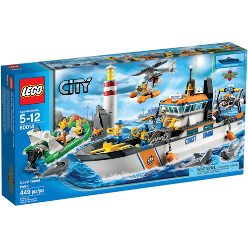 Lego CITY® Coast Guard Patrol with Helicopter and Minifigures | 60014