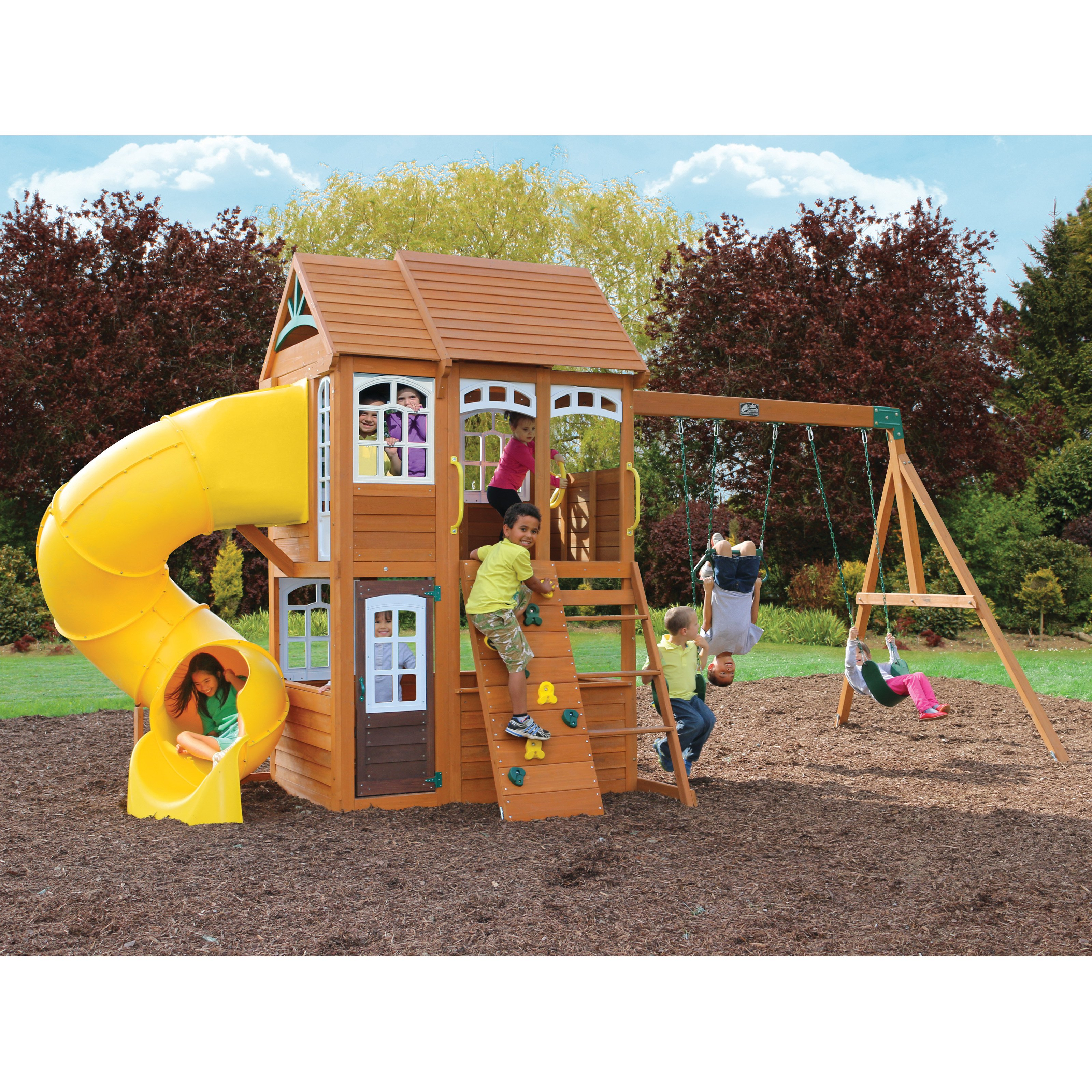 Cedar Summit Richmond Lodge Wooden Play Set