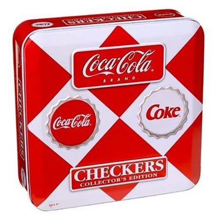 Vintage Sports Cards Coca Cola Checkers in a Tin - image 1 of 1
