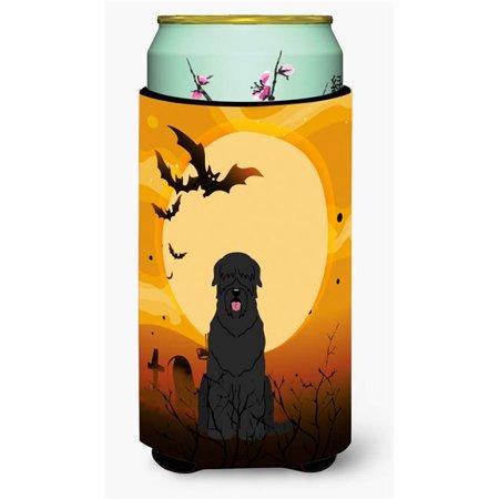 Halloween Black Russian Terrier Tall Boy Beverage Insulator Hugger - Russian Halloween