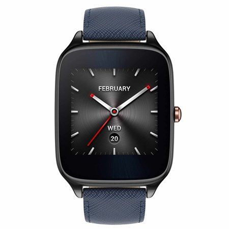 New Asus Zenwatch 2 Wi501q 41Mm Stainless Steel 4Gb Storage 1 63   Amoled Android Wear Smartwatch Ip67 Water Resistant   Blue   International Version