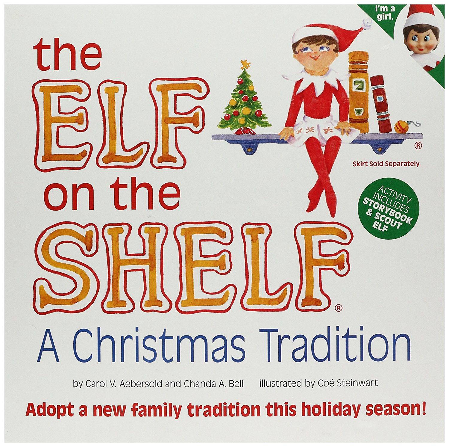 Elf on the Shelf: A Christmas Tradition (blue-eyed girl s...