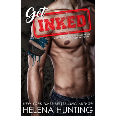 Get Inked: A Pucked Series and Clipped Wings Crossover Novella - eBook Autographed Red Wings Puck