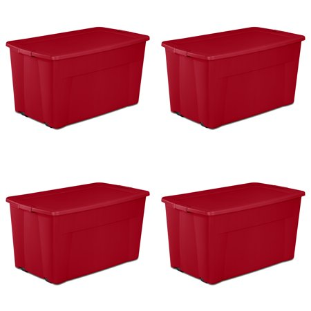 Sterilite, 45 Gal./170 L Wheeled Latch Tote (Available in Case of 4 or Single Unit) for $<!---->