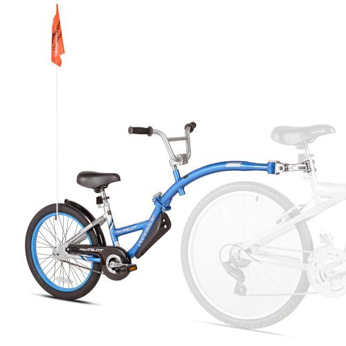 WeeRide Tag-Along Bike - Pro-Pilot Blue