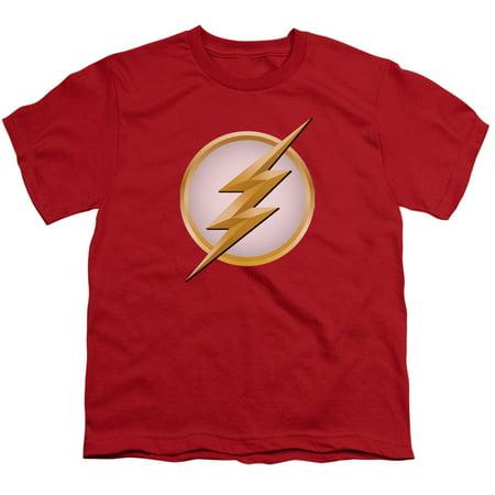 Flash - New Logo - Youth Short Sleeve Shirt - X-Large