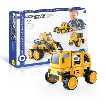 PowerClix® Construction Vehicle Set