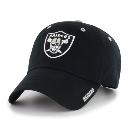 Nhl Fan - NFL Oakland Raiders Ice Adjustable Cap/Hat by Fan Favorite