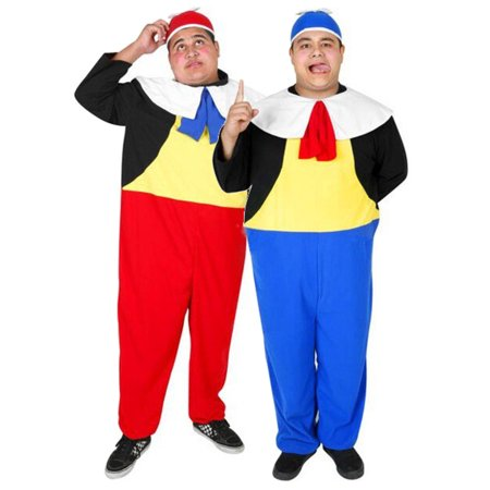 Adult Tweedle Dee & Tweedle Dum Costume - Tweedle Dee Tweedle Dum Halloween