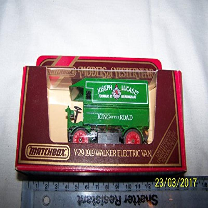 Matchbox Models of Yesteryear 1919 Camionnette Walker Electric Van 1 38 Diecast by