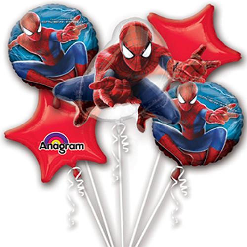 Spiderman Theme Birthday Party Marvel Superhero Foil Balloon Packs Age Boys Pack
