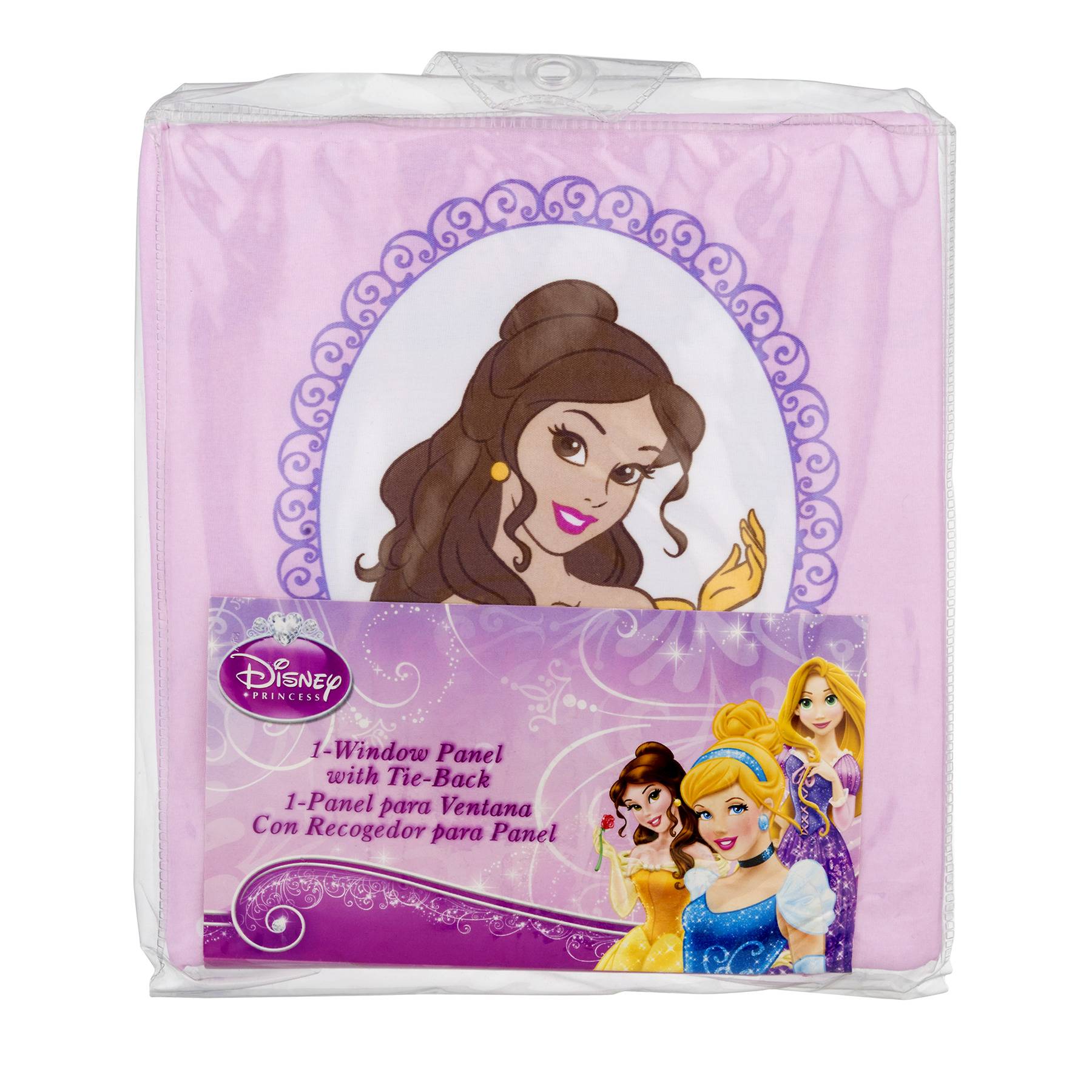 Disney Princess Timeless Elegance Girls Bedroom Curtain Panel