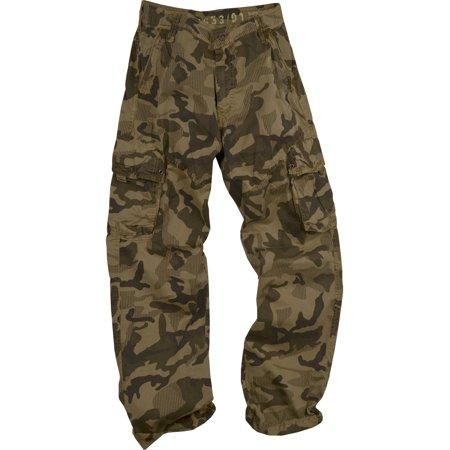 Camouflage Cargo Pants (StoneTouch Men's Military-Style Camo Cargo Pants 28C1_C3)