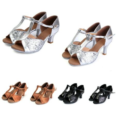 Women's Ballroom Latin Tango Dance Shoes - Ballroom Dance Outfit
