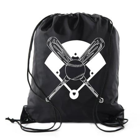12 Pack Bag (Mato & Hash Boys Drawstring Backpack Baseball Bags 1-10 Pack Bulk Options)