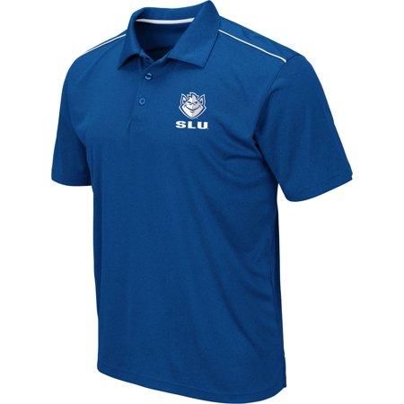 Colosseum Men's Saint Louis Billikens Blue Eagle Polo