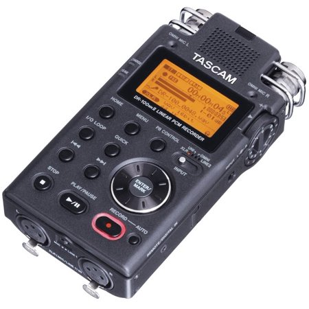 NEW! TASCAM DR-100mkII Portable Linear PCM Digital Audio Recorder w/ SD Card