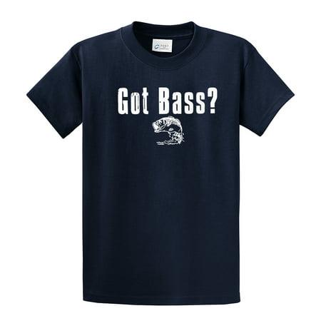 Fishing T-Shirt Got Bass? Fish Tee (Bass Fish Fishing T-shirt)
