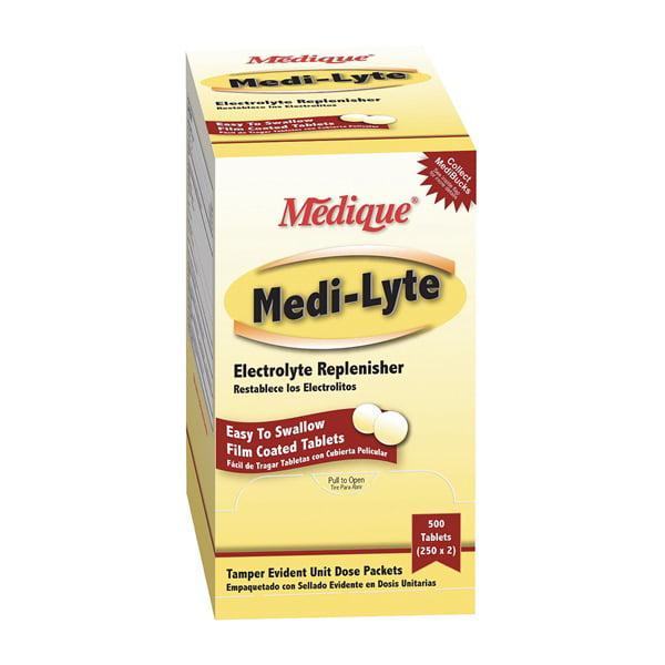 Medi-Lyte, Tablets, PK 100