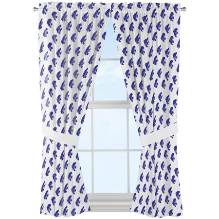NCAA Kansas State Wildcats Mascot Window Curtain Panels, 1 Each