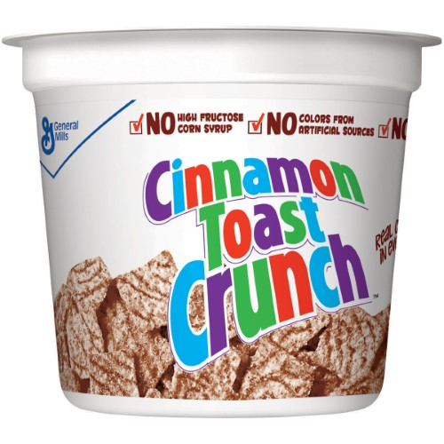 Cinnamon Toast Crunch Cereal Cup (Pack of 4)