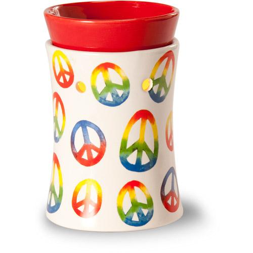 ScentSationals Mini Warmer, Peace Sign