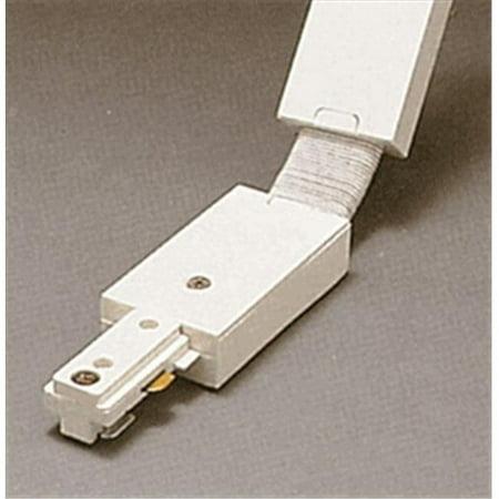 PLC TR134 BK Track Accessories 120V Track Flexible Connector Ceiling Light, Black