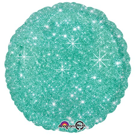 Mint Green Sparkle 17