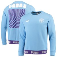 Manchester City Puma Football Culture Sweater - Light Blue