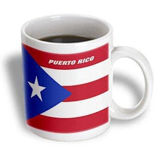 3dRose State Flag Of Puerto Rico, Ceramic Mug,