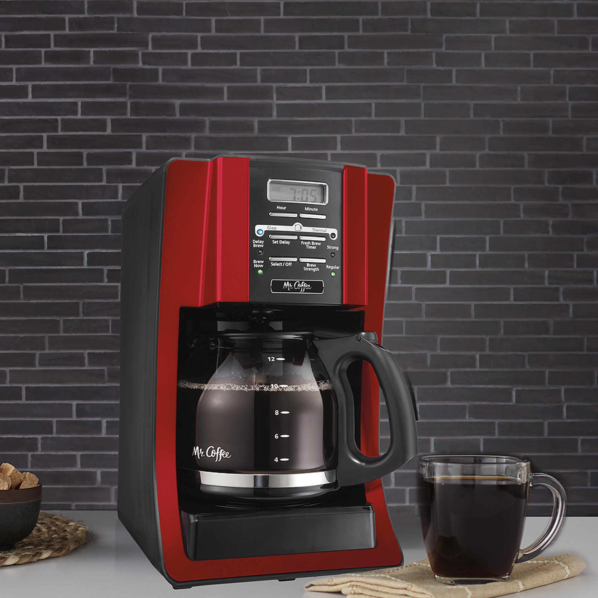 Mr Coffee Coffee Maker Bvmc Sjx36gt : Mr. Programmable 12-Cup Coffee Coffee Maker SJX