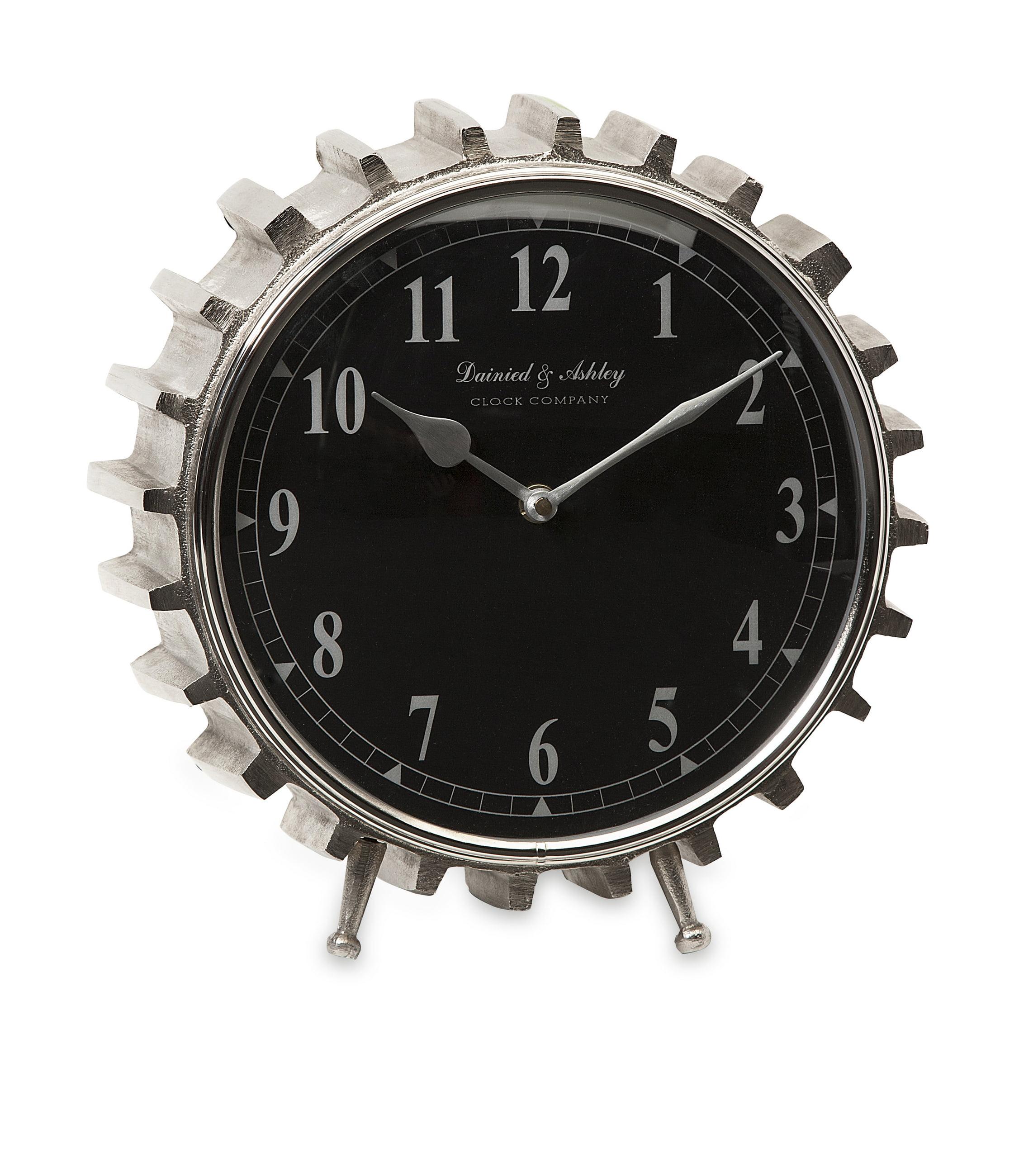 Innovatively Styled Carlton Table Clock by Benzara